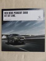 Peugeot 3008 GT Line - Prospekt Brochure 07.2016
