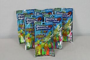 Lot Of (6) Crazy Bunch O Balloons 100 Count Water  balloons    600 baloons