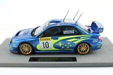 Subaru impreza wrc s7 Monte Carlo 2002 #10 makinen winner victoria top marques 1:18