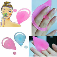 Soft Facial Care Cleaning Pad Blackhead Remover Silicone Brush Beauty Tool  3CAU