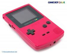 Nintendo GameBoy Color - Konsole #Rosa/Pink/Red/Berry sehr guter Zustand