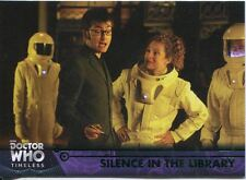 Doctor Who Timeless Green Parallel Base Card #63 Silence in the Library