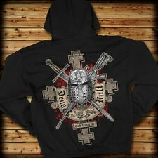 7.62 Design Deus Vult - God Wills It  Men´s Hoodie Hoody XLarge  XL