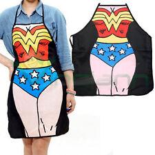 Grembiule cucina Wonder Woman supereroe cottura accessorio divertente regalo