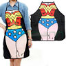 Grembiule cucina Wonder Woman supereroe cottura accessorio divertente regalo