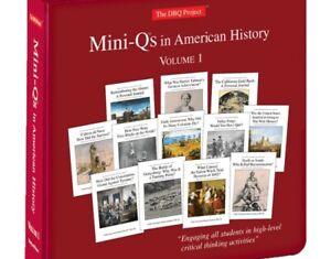 Mini-Q's in American History Volume 1