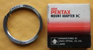 #1 Asahi Pentax Genuine Pentax K Mount Adapter (M42 Screw Mount Lens To K Body)