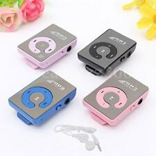 MP3 PLAYER SUPPORTS MICRO SD CARD 2GB 4GB 8GB 16GB 32GB WITH MINI CLIP
