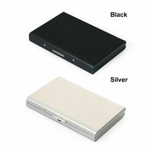 RFID Blocking Aluminum Metal Slim Wallet Anti-Scan Credit Card Holder Thin Case