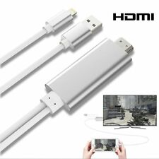 CABLE HDTV LIGHTNING VERS HDMI ADAPTATEUR 2m HD 1080P POUR iOS IPHONE 5 6 7 8 X