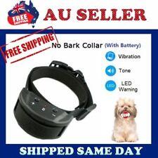 2018 New Auto VIBRATION Anti Stop Barking Dog Collar Safe Training NO SHOCKING