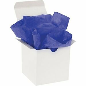 """Tissue Paper Gift Grade 20"""" x 30"""" Parade Blue 480/Case by Christmas Packaging"""