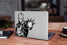 Iron Man Decal for Macbook Pro sticker vinyl air mac 13 15 11 laptop skin comic