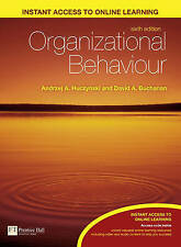 (Good)-Organizational Behaviour: An Introductory Text (Paperback)-Dr Andrzej Huc