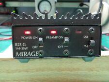 Mirage B23 G,FM/SSB amplifier 30 watt VHF 2 meter forHT