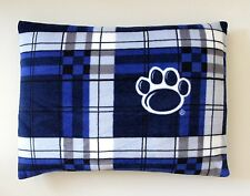 "2-PENN STATE FLEECE PRINT /KING PILLOW CASES 20""X25""  BLUE BACK-3 PRINT CHOICES"