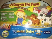 New Sealed VTECH V Smile Baby Day on the Farm Learning Video Game Educational