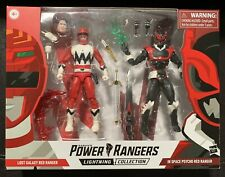 Power Rangers Lightning Collection RED LOST GALAXY IN SPACE PSYCHO RANGER 2 Pack