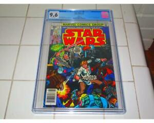 STAR WARS #2 1977 CGC 9.6 1ST APPEARANCE HAN SOLO CHEWBACCA  REPRINT