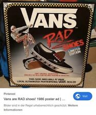 Vans Rad - Limited Edition v. 2012 - Neu - ungetragen - Sample - RARE