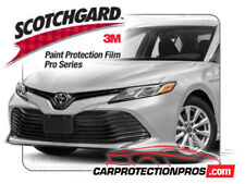 2019 Toyota Camry LE XLE 3M PRO Series Clear Bra Bumper Paint Protection Kit