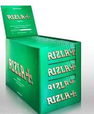 RIZLA GREEN REGULAR 2 FULL BOXES  200 PACKS X 50 LEAVES