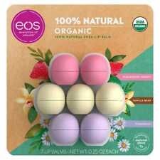 EOS Spheres Organic Lip Balm ( 7 Pack) * FAST SHIPPING *