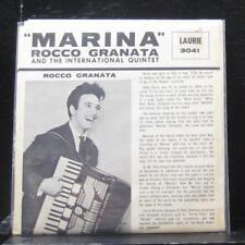 "Rocco Granata-  Marina / Manuela 7"" VG+ Laurie 3041 Vinyl 45"