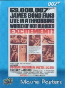 James Bond Villains & Henchmen Movie Posters Chase Card MP-34 From Russia With
