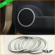 Nissan Qashqai J11 Lautsprecher Stereo Audio Zubehör Chrom Abdeckung Dekoration