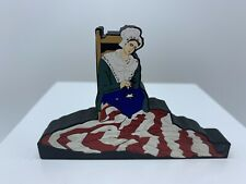 Shelia's Collectibles Shelf Sitter Betsy Ross Sewing The Flag 2000
