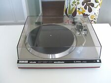 Technics SL-1400 MK2 - Direct drive vintage audiophile turntable - awesome sound