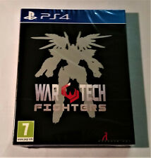 War Tech Fighters (PS4 PlayStation4 Spiel) - Limited Run by Red Art Games - Neu