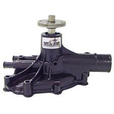 Tuff Stuff Water Pump 1625NF; Mechanical Black Powdercoat Aluminum for Ford 5.0L