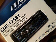 New listing Alpine Cde-175Bt Single-Din Bluetooth Cd Am/Fm Car Tuner Receiver Cde175Bt Bt
