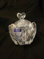 Marquis by Waterford Sweet Memories Trinket Candy Bowl with Hearts & Lid 4.5""
