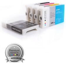 8x ink cartridge 220ml NOVA-X® K3V compatible to Epson® Stylus Pro 7880 | 9880