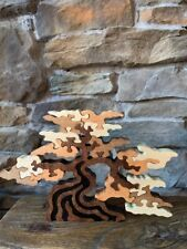 Survivor Challenge Natural Shade Tree Wood Puzzle Toy Made in the Usa Art