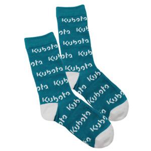 Kubota Branded Kubota Logod Teal Socks
