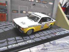 OPEL C Kadett GT/E Rallye Modena 1979 #142 Biasion Caranini Tobi IXO Altaya 1:43