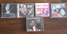 Lot of 11 CDs Louis Armstrong Ella Fitzgerald Mahalia Jackson & Cesaria Evora