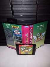 Vector in Sonic the Hedgehog 1 Game for Sega Genesis! Cart & Box!