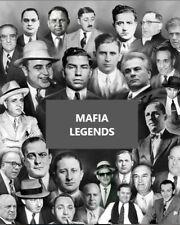 MAFIA LEGENDS COLLAGE 8X10 PHOTO MAFIA ORGANIZED CRIME MOBSTER MOB PICTURE