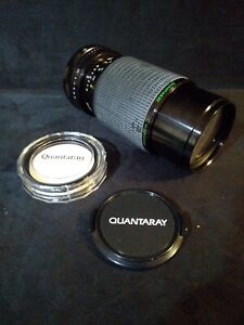 Quantaray 70-210mm 4.5 Konica AR-mount Lens with Filter - Read Description