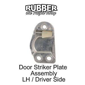 1959 1960 Edsel Door Striker Plate Assembly - LH