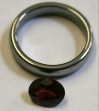 NATURAL PYROPE GARNET 6x8mm LOOSE GEMSTONE FACETED OVAL 1.4ct GA9E
