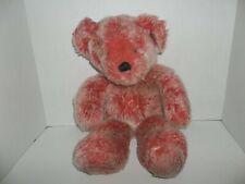 "first & main dumplin' red teddy bear plush v1716 19"" tall"
