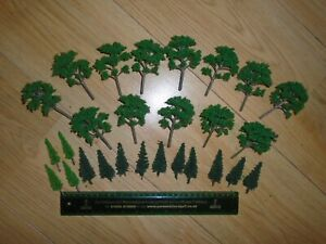 Collection of Scenic Trees for Hornby OO Gauge Train Sets