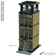 LEGO Office Tower - custom modular building (MOC) - INSTRUCTIONS ONLY