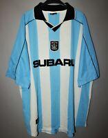 COVENTRY CITY VINTAGE HOME FOOTBALL SHIRT JERSEY SUBARU 2000/2001 SIZE XXL